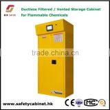 Lab equipment vented Filtered Storage Cabinet for Flammable Material