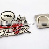 iron metal chrome letter car badge