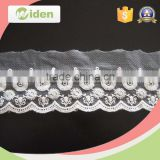China supplier beautiful mesh lace fabric net and organza embroidery lace                                                                                                         Supplier's Choice