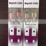 New arrivals sinretoo magnetic charging cable for andriod micro usb and for iphone magnetic usb cable