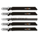 Quality 75MM HCS Jig Saw blade for wood