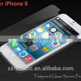 High Quality Tempered Glass Screen Protector for iphone 6 and 6 plus