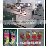 YQ-250 automatic multi-function horizontal chocolate wrapping machine/snack food packing machine