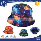 New product sublimation custom galaxy bucket hat