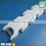 wholesale engineering custom POM delrin acetal plastic conveyor chain manufacturer china