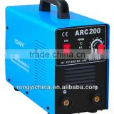 Shanghai RONGYI Mosfet Inverter DC MMA single phase portable arc 200 welding machine ARC200