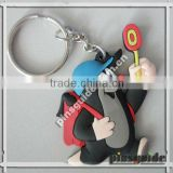Chinese Manufacturer Personality Creative Marketing Felt Plastic Gift Keychain With SGS Certification