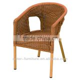 Styling bamboo garden chairs and table