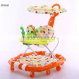 high quality solid wheel and good seat baby walker/push easily and comfortable babi walker