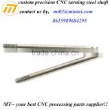 Mingtai factory custom micro cnc machining stainless steel hollow spline shaft