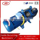 cable hoist for 60M 800kg 1000kg crane electromagnetic brake hoist 220V KCD type wire rope electric crane hoist