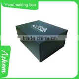 Hot sell OEM package handmaking paper gift box for perfume with customized design, DL239