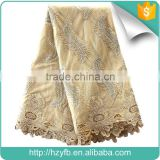 New designs lace factory in china high quality beaded lace fabric net embroidered wholesale french lace for women dress