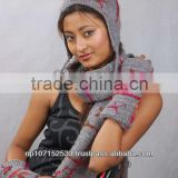 woolen ear hat handwarmer and scarf set price 700 for 3 set $8.23 you can buy single too