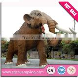 amusement park life size animatronic animal model
