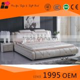 Good quality bedroom furniture synthetic leather double bed, bedroom furniture, comfortable bedroom furniture sets design