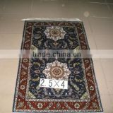 mosque prayer silk rug hand knotted silk rug factory in canton                                                                         Quality Choice