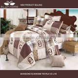 Luxury reactive printing branded print quilt cover set bedding set bed sheet set                                                                         Quality Choice                                                     Most Popular