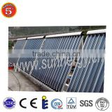 2015 products new family use 18 tube china solar heater