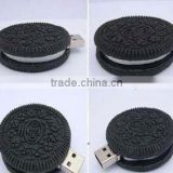 2014 new product wholesale oreo cookie usb flash drive free samples made in china