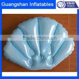 PVC air waterproof back cushion spa bath pillow for hotel