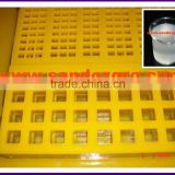 Release agent for polyurethane sieve plate