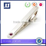 Diamond Inlay Tie Pin Low Price Logo Cufflink Tie Clip