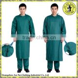 Hosipital Non-woven Sterile Green Disposable Surgical Gown                                                                         Quality Choice