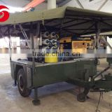 Military and civil field mobile seawater desalination plant, truck type reverse osmosis seawater desalination equipment