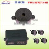 Ultrasonic parking sensor with BIBIBI buzzer for blind spot assist system