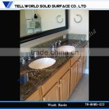 Artificial stone washing basin vanity top