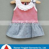 Knitted baby vest cotton baby clothing 2015