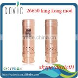 Copper 26650 king kong mod clone with factory price
