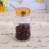High quality clear amber glass sex capsules bottle with screw cap                                                                         Quality Choice