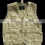 man camouflage shooting vest