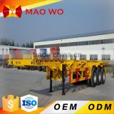 2016 Hot skeleton semi trailer used container chassis sale                                                                         Quality Choice