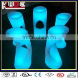 LED Bar Furniture illuminated bar stool colorful beautiful outdoor bar stool used commercial bat stools