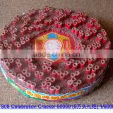 T809 CE approved all red celebration firecrackers with loud bang