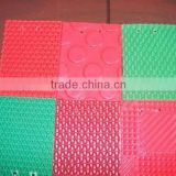 Surface material of rubber esd anti-fatigue mat