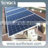 cost effective solar power mounting rack pv module mount racking system for home application