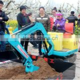 Best Kids rides on electric toy excavator China mini digger excavator