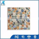 porcelain ceramic stone tile model , blue river pebble tile