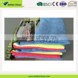 Knitted warp for dish plate washing clean kitchen towels bulk