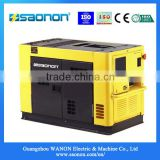 12.65kva Super Silent Mini Portable Electric Power Diesel Generator set with competitive price
