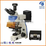 China Manufacturer Made Fluorescence Microscope with Adjustable Microscope Stand