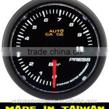 52mm White LED / smoke lens Oil Pressure gauge types auto meter