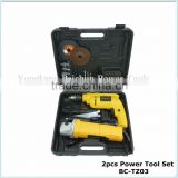 2pcs set(BC-TZ03) BMC box packing impact drill and angle grinder set