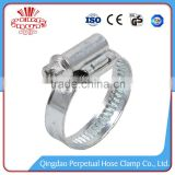 China New band wide worm drive swivel hose clamps