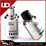 2016 New product UD ANZU rda atomizer with velocity rda and Big delrin drip tip VS Tsunami RDA