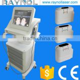 Skin Tightening 3 HIFU Cartridge Color Touch Screen Ultrasound HIFU Face Lift Machine Portable Waist Shaping